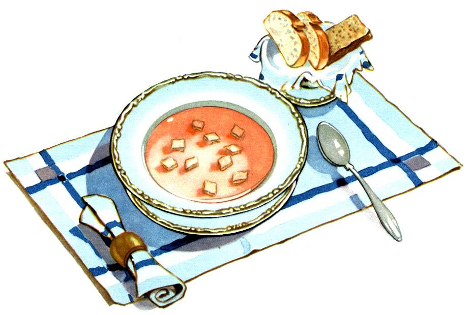 Яніна варыць суп